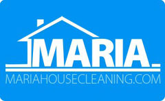 Maria house cleaning company logo
