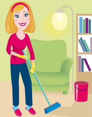BENEFITS OF CLEANING: for body, brain and soul